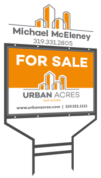 Urban Acres house for sale yard sign