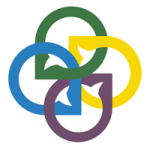 EntreFEST logo of conversation bubbles in blue, green, yellow, and purple intertwined