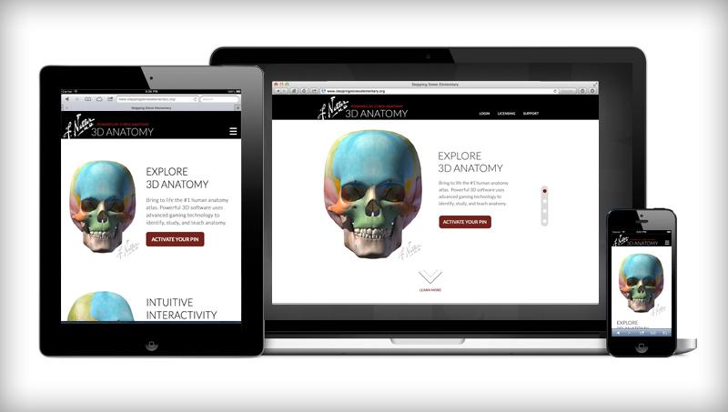 Creative Mellen The Anatomy Of A 3d Website